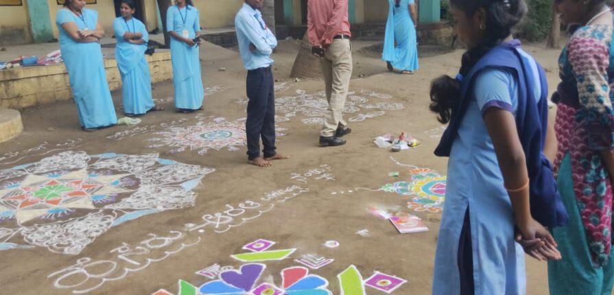 Cocurricular activities in internship, gulbarga university school